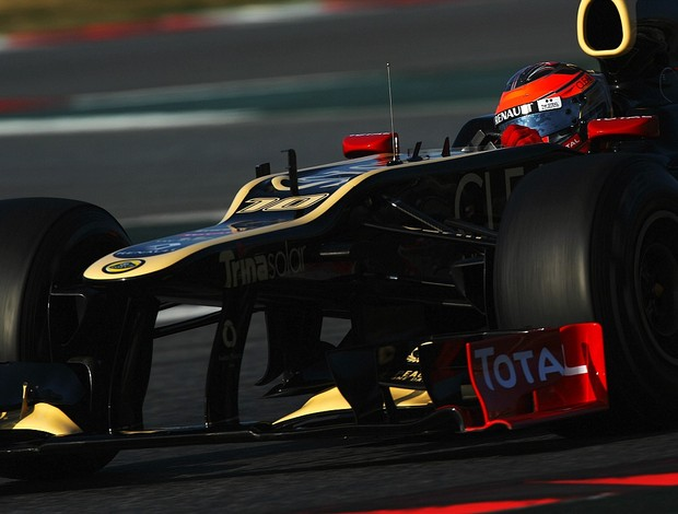 Romain Grosjean Lotus testes Barcelona Fórmula 1 (Foto: Getty Images)