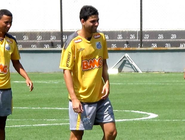 gerson magrão santos treino (Foto: Marcelo Hazan / Globoesporte.com)