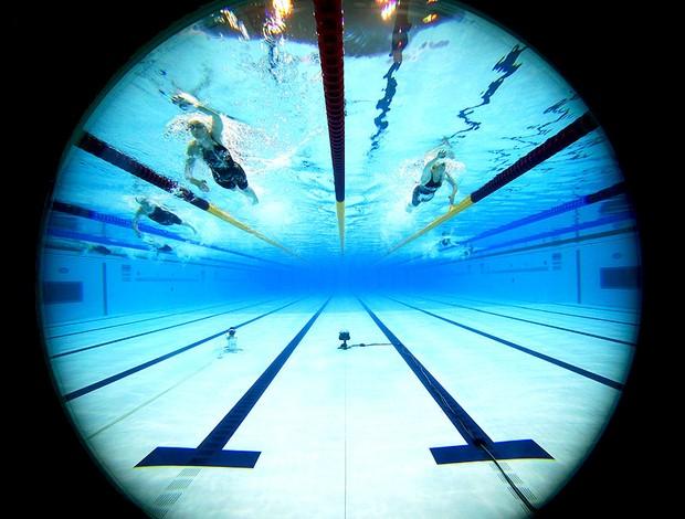 seletiva de natação em Londres no Aquatics Center Olimpíadas (Foto: Getty Images)