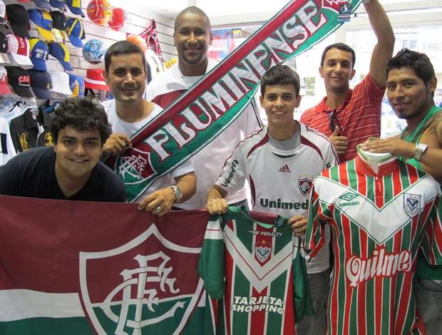 torcida fluminense argentina (Foto: Fernando Torres/Fluminense F.C.)