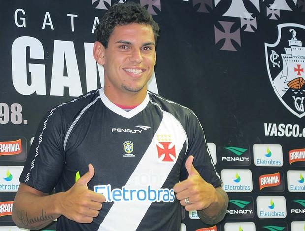 Apresentação Fabricio no Vasco (Foto: Gustavo Rotstein / GLOBOESPORTE.COM)