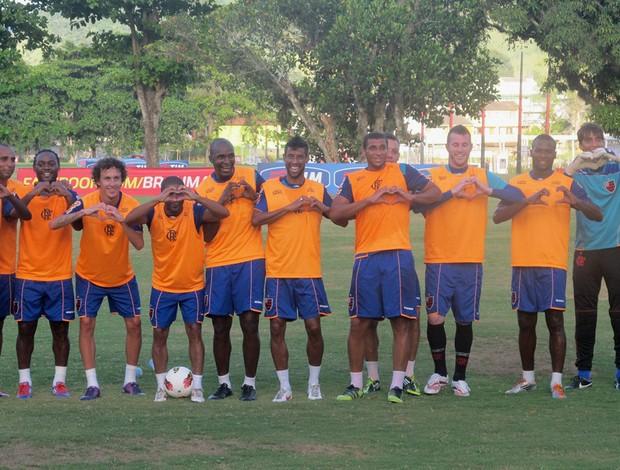 Flamengo Rachão homenagem renato (Foto: Richard Souza / Globoesporte.com)