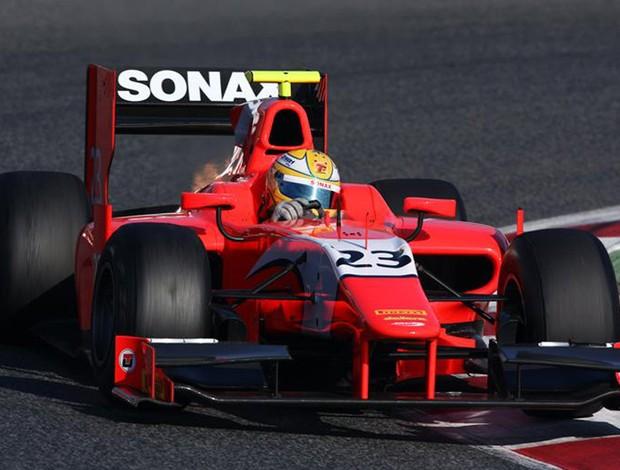 Luiz Razia GP2 Barcelona (Foto: Divulgação)