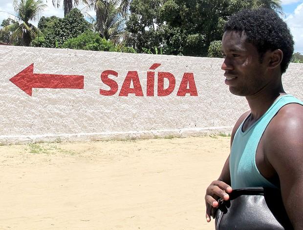 Jorbison Alagoas treino (Foto: Janir Junior / GLOBOESPORTE.COM)