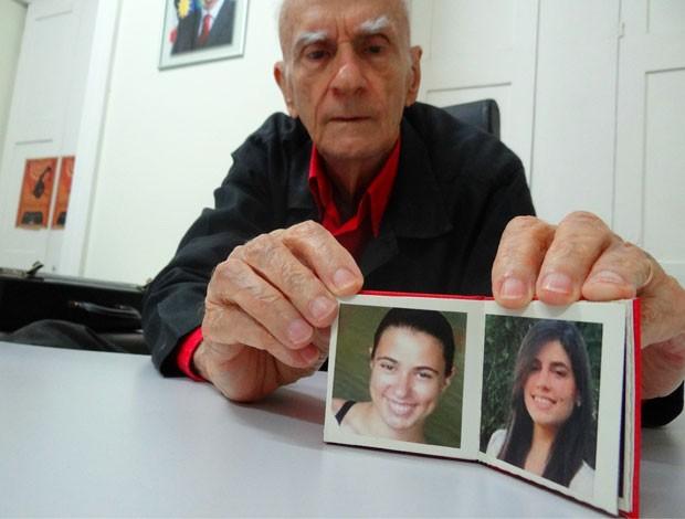 Ariano Suassuna, torcedor do Sport (Foto: Tiago Medeiros, GLOBOESPORTE.COM)