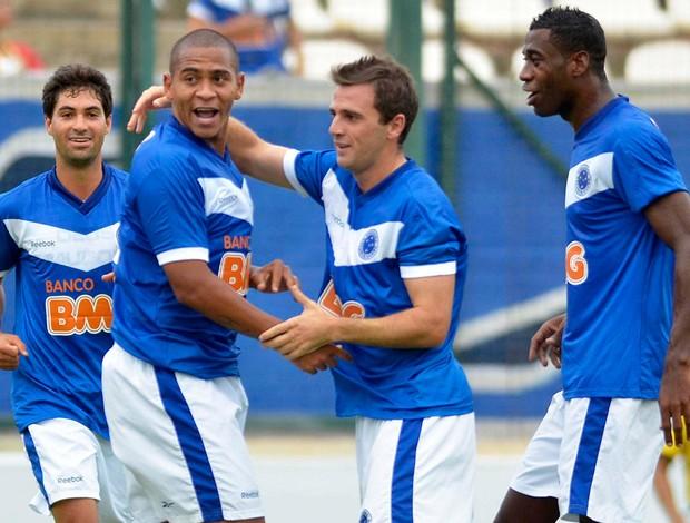 Walter gol Cruzeiro (Foto: Pedro Vilela / Futura Press)
