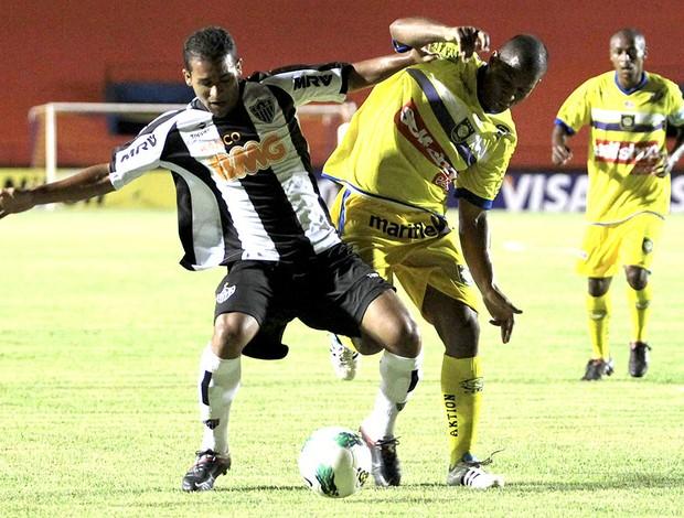 Pierre do Atlético-MG na partida contra o Cene Copa do Brasil (Foto: Marcelo Miatelo / Ag. Estado)
