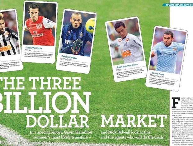 World Soccer revista (Foto: Reprodução/World Soccer  )