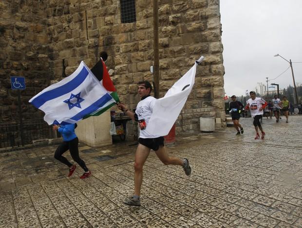 CORRIDA DE RUA JERUSALÉM (Foto: AFP)