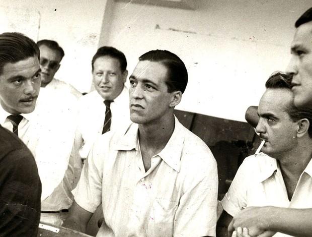 Heleno de Freitas jogador do Botafogo 1948 (Foto: Arquivo / Ag. O Globo)