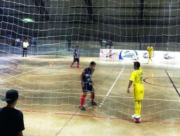 Uberlândia Futsal x Pratense, pela segunda rodada da Copa Integração de Futsal (Foto: Graciele Soares)