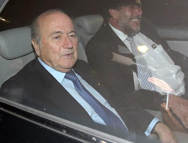 Joseph  Blatter presidente fifa brasília (Foto: Wilson Pedrosa/Agência Estado)