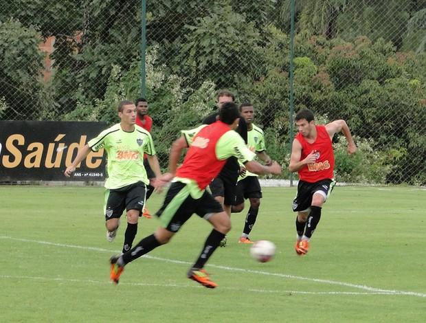 Treino do Atlético-MG (Foto: Fernando Martins/Globoesporte.com)