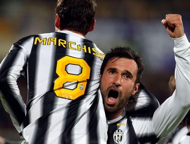 Marchisio vucinic juventus x Fiorentina  (Foto: Reuters)