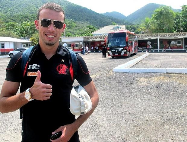 Paulo Sérgio atacante do Flamengo (Foto: Richard Souza / GLOBOESPORTE.COM)