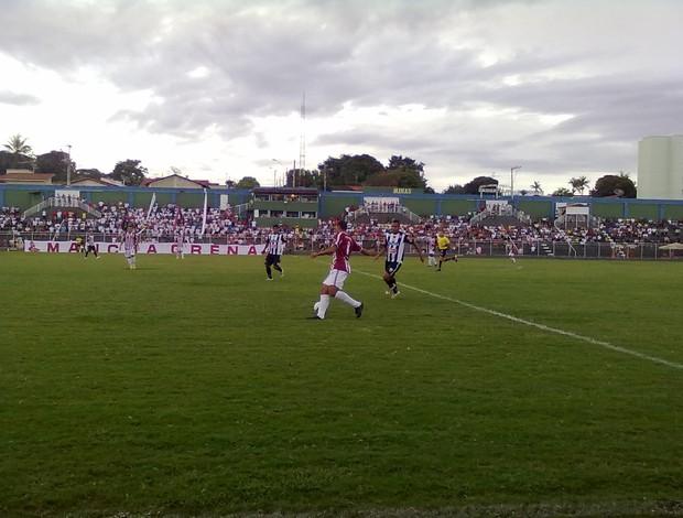 Patrocinense e Araxá ficam no empate pelo Módulo II (Foto: César Campos / TV Integração)