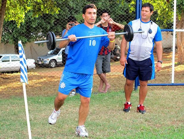 Cabañas especial jogador (Foto: Gustavo Rotstein / Globoesporte.com)