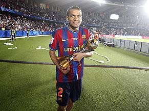 Daniel Alves troféu Mundial de Clubes