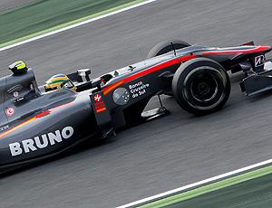 Bruno Senna teste F1 Espanha