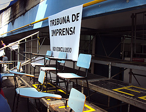clube Unisanta sede to troféu Maria Lenk  tribuna de imprensa