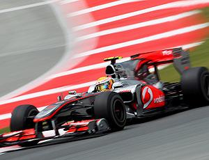 Hamilton treino Espanha McLaren