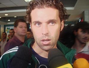 Lincoln no desembarque do Palmeiras