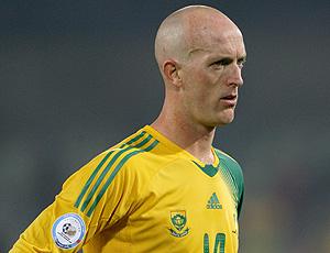 Matthew Booth no jogo da África do Sul
