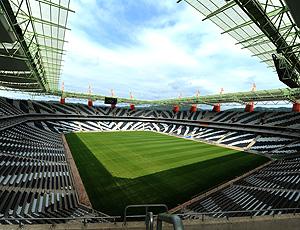 Mbombela, Nelspruit, estádio da Copa do mundo 2010 na África do Sul