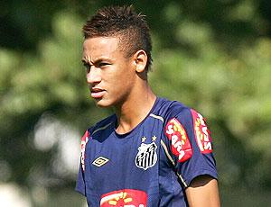 neymar treino do santos