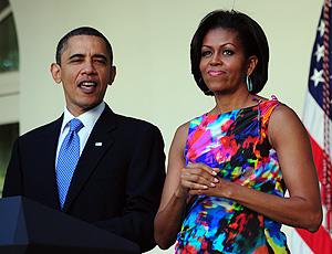 Obama presidente Michelle Estados Unidos