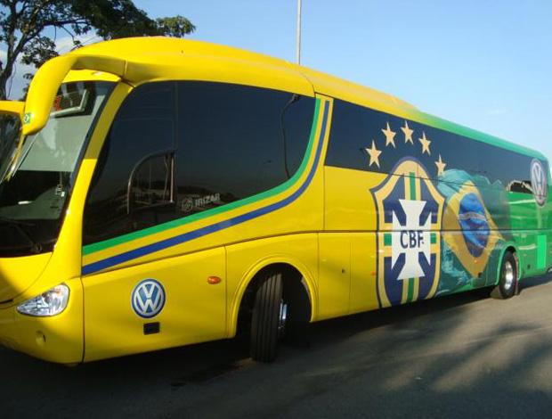 ônibus da seleção brasileira