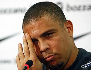 Ronaldo coletiva Corinthians