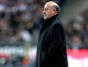 Vicente Del Bosque no comando da seleção da Espanha