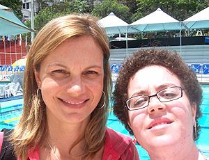 Fã Patrícia Angélica e Flávia Cielo em 2008