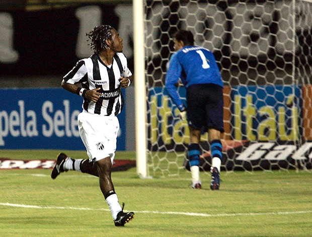 Geraldo comemora gol do Ceará
