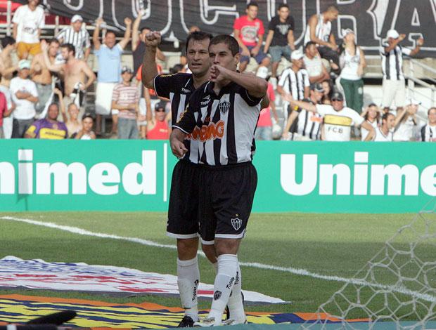 Ricardinho, Atlético Mineiro, comemora gol contra o Vasco