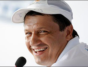 Adilson Baptista, treinador do Cruzeiro