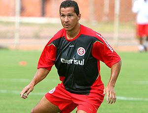 Fabiano Eller no treino do Internacional