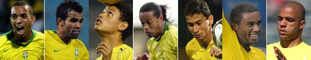 Ronaldinho e Ganso na lista de espera (Editoria de Arte/GLOBOESPORTE.COM)