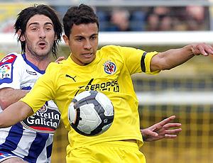 Nilmar jogo do Villarreal