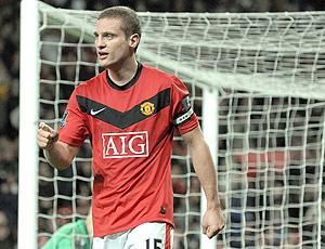Vidic jogador do Manchester United