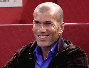 Ex-jogador da França, Zidane
