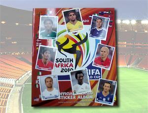 Figurinhas jogadores ausentes álbum copa do mundo na Africa  do Sul