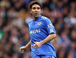 Deco em jogo do Chelsea