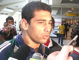Diego Souza, em entrevista aos jornalistas