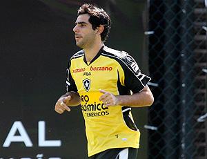 Herrera no treino do Botafogo
