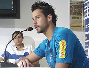 Fabio, Cruzeiro, dá entrevistas