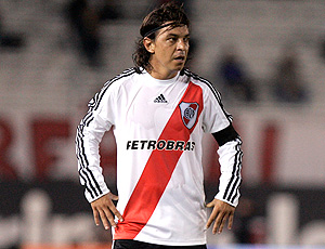 Gallardo, meia do River Plate