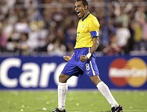Gilberto Silva, pela seleção