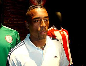 Robert, do Palmeiras, em evento promocional